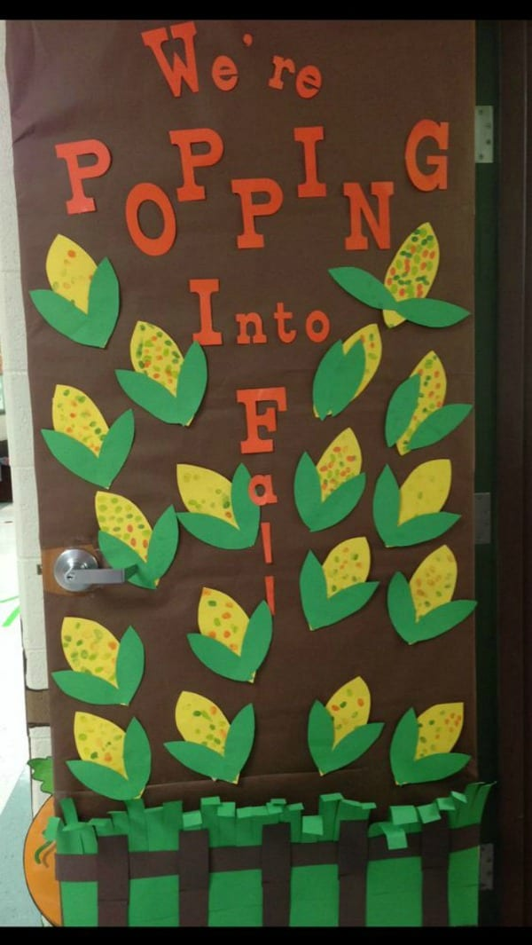 Rockstar Classroom Decor ~ Fall bulletin boards and door decorations for your