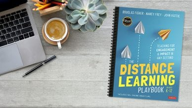"""""""The Distance Learning Playbook"""" for Practical Tips fo Distance Learning."""