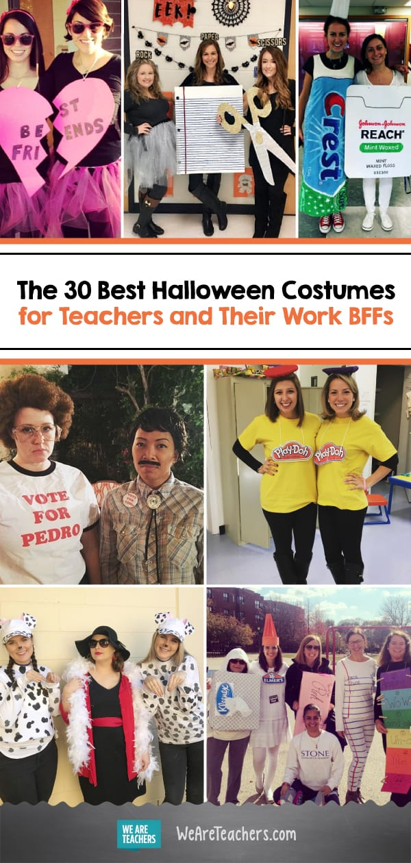 the 30 best halloween costumes for teachers and their work bffs