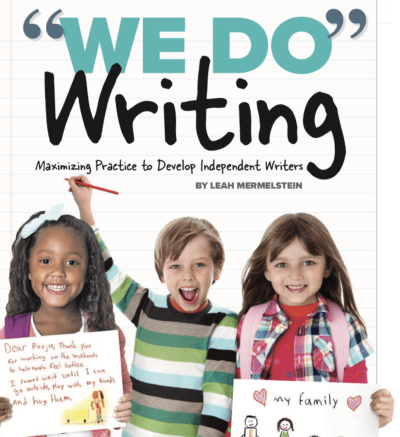 Cover of We Do Writing