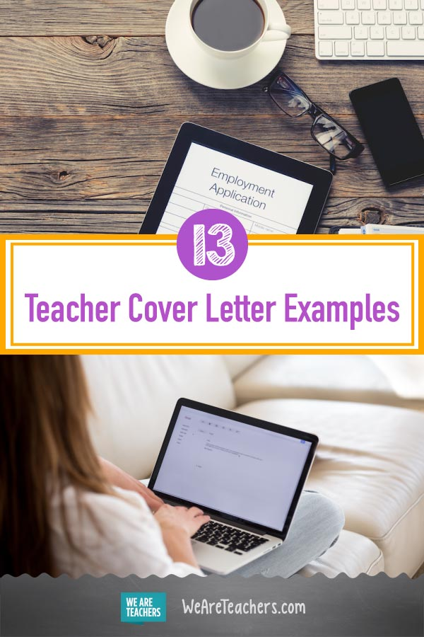 Teacher Cover Letter Examples Real Letters Used To Get Hired