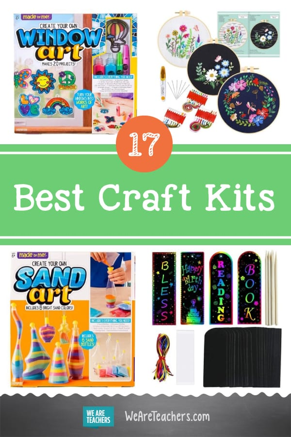 17 Teacher-Approved Craft Kits to Get Kids' Creativity Flowing