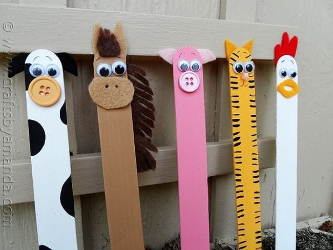 Craft Sticks Проекты