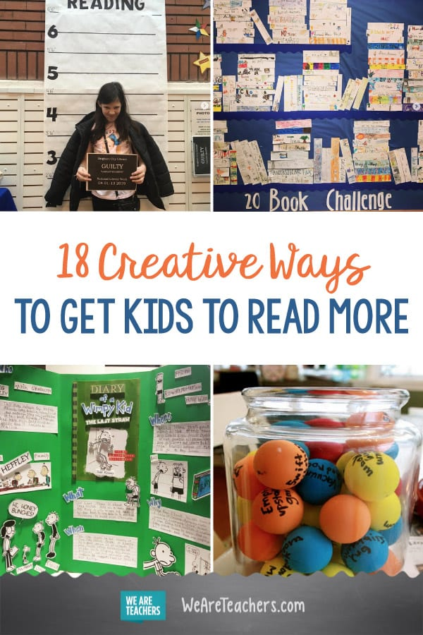 18 Creative Ways to Get Kids to Read More
