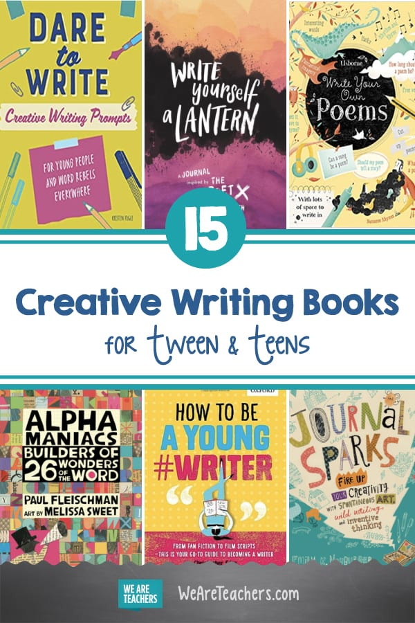 15 Creative Writing Books for Tween & Teens