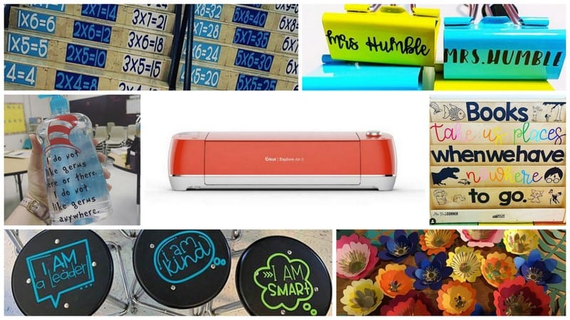 50 Incredible Ways To Use Cricut In The Classroom