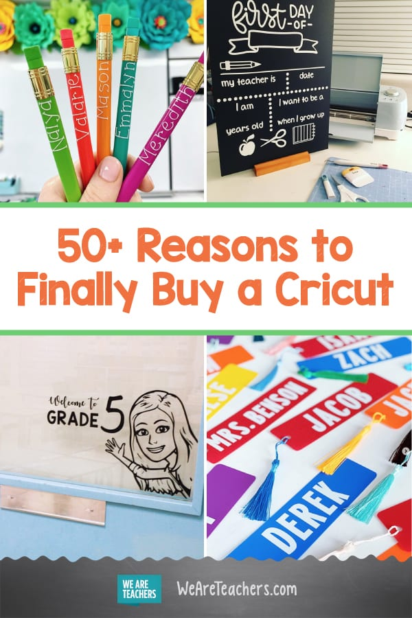 50+ Reasons to Finally Buy That Cricut You've Been Coveting