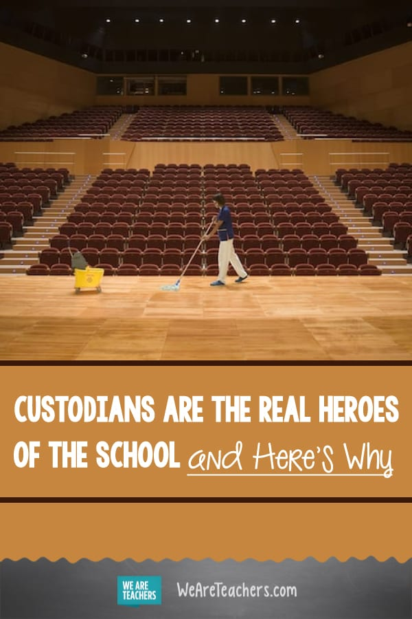 The Real Hero of the School? The Custodian