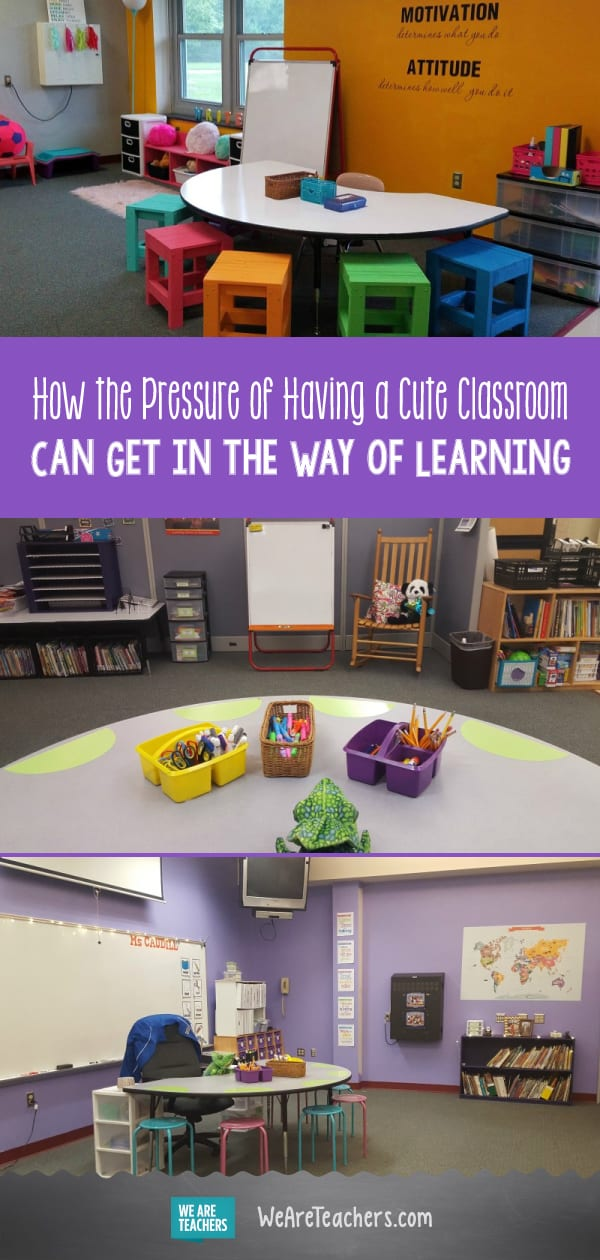 How the Pressure of Having a Cute Classroom Can Get in the Way of Learning