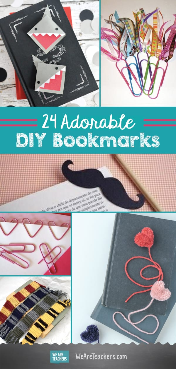 24 Adorable DIY Bookmarks