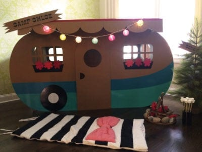 Camping Theme Classroom DIY Camper Decoration