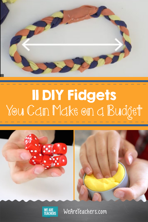 11 DIY Fidgets You Can Make on a Budget