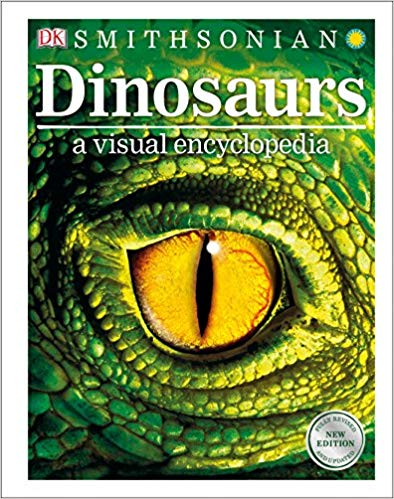 Book cover for Dinosaurs: A Visual Encyclopedia