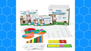 hand2mind daily math fluency