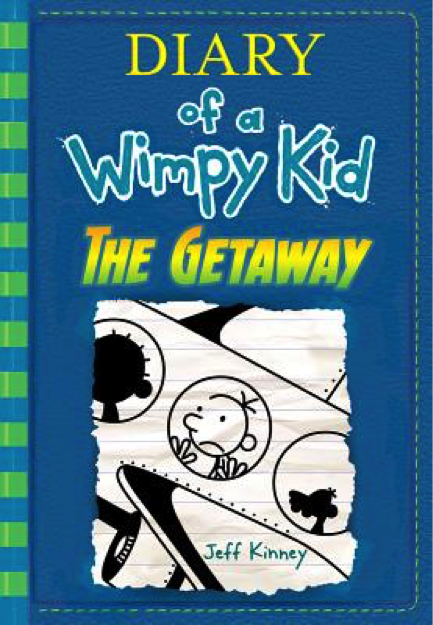 Dairy of a Wimpy Kid Book Cover - Popular Kids Books