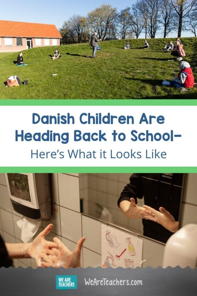 Danish Children Are Heading Back to School—Here's What it Looks Like