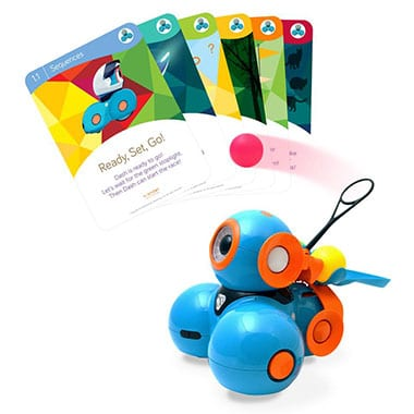 Dash Robot with Dash Challenge Cards