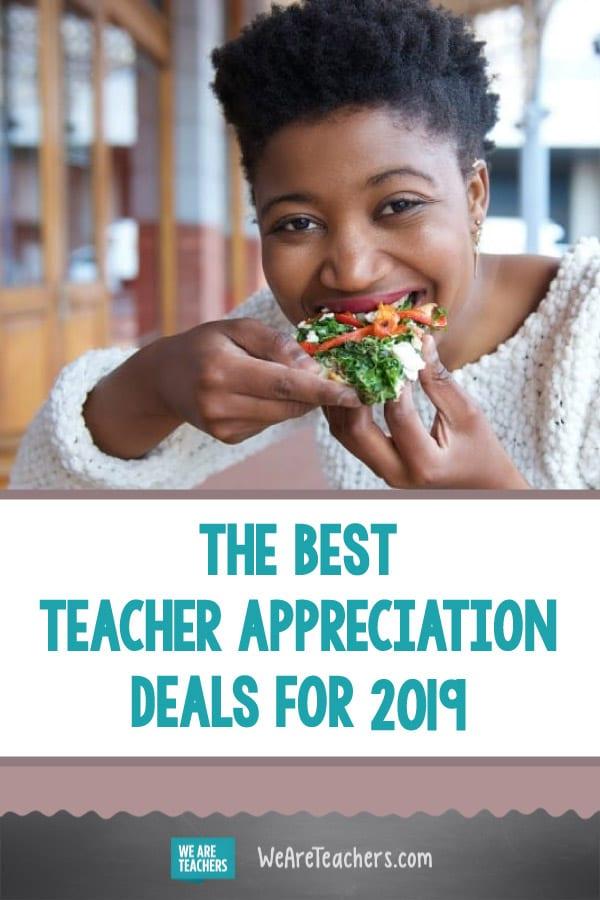 The Best Teacher Appreciation Deals for 2019