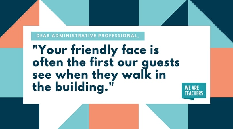 Administrative Professional - Friendly Face