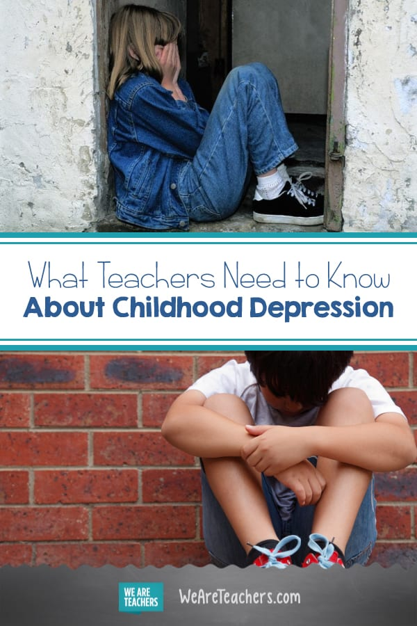What Teachers Need to Know About Childhood Depression
