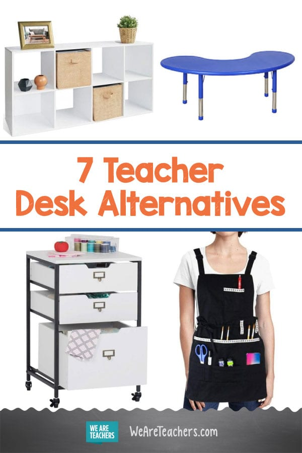 7 Teacher Desk Alternatives To Help You Get Organized & Free Up Space