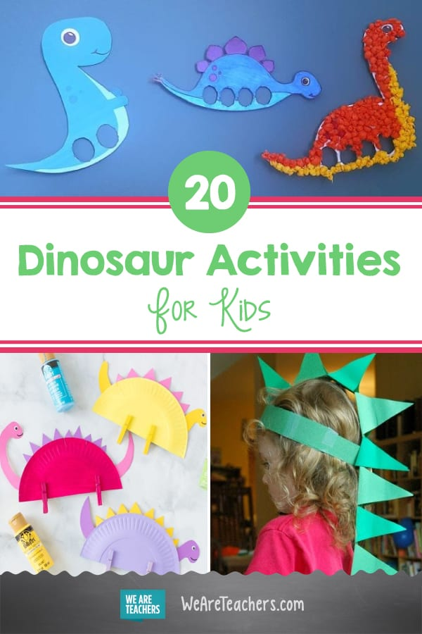 These 20 Dinosaur Activities and Crafts For Kids Are Totally Dino-mite
