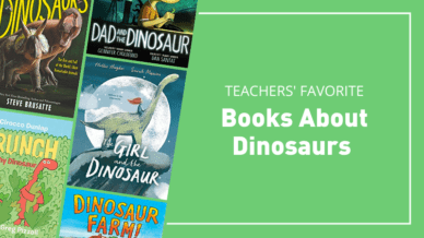 Teachers' favorite books about dinosaurs