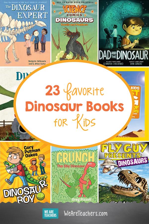 23 Favorite Dinosaur Books for Kids