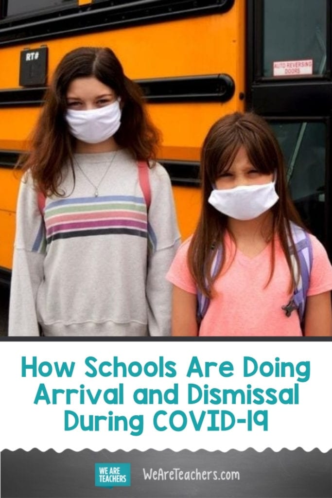 How Schools Are Doing Arrival and Dismissal During COVID-19