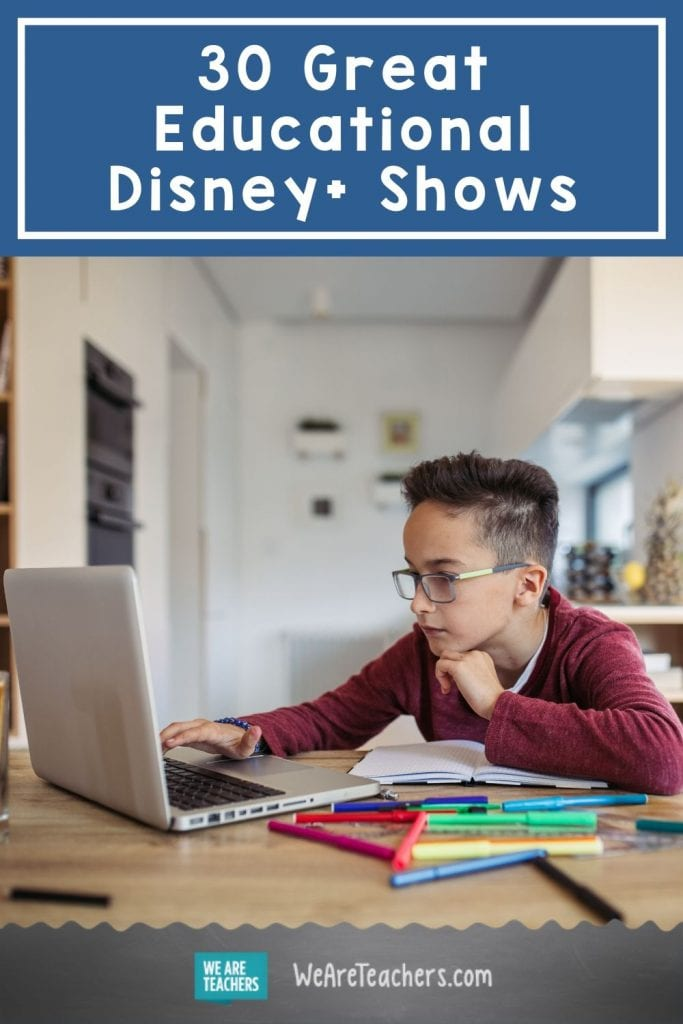 30 Great Educational Disney+ Shows