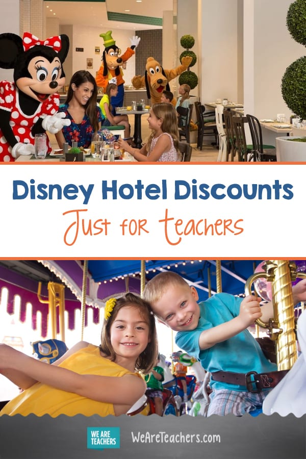 7 Disney Hotels Are Offering Teacher-Exclusive Discounts This Summer