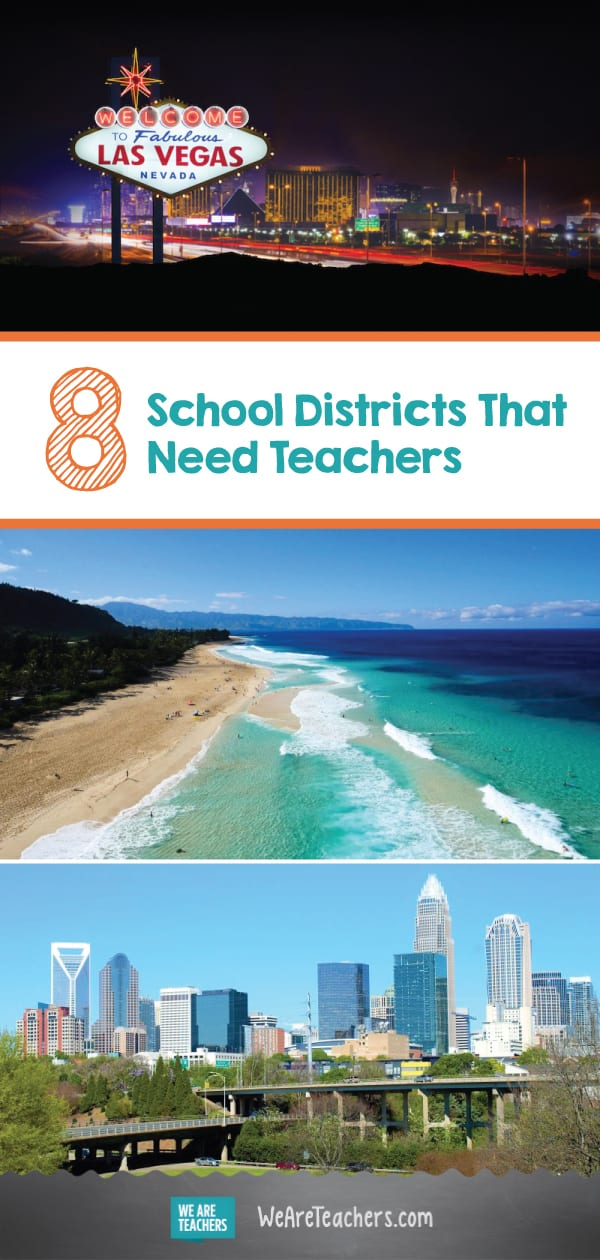 8 School Districts That Need Teachers