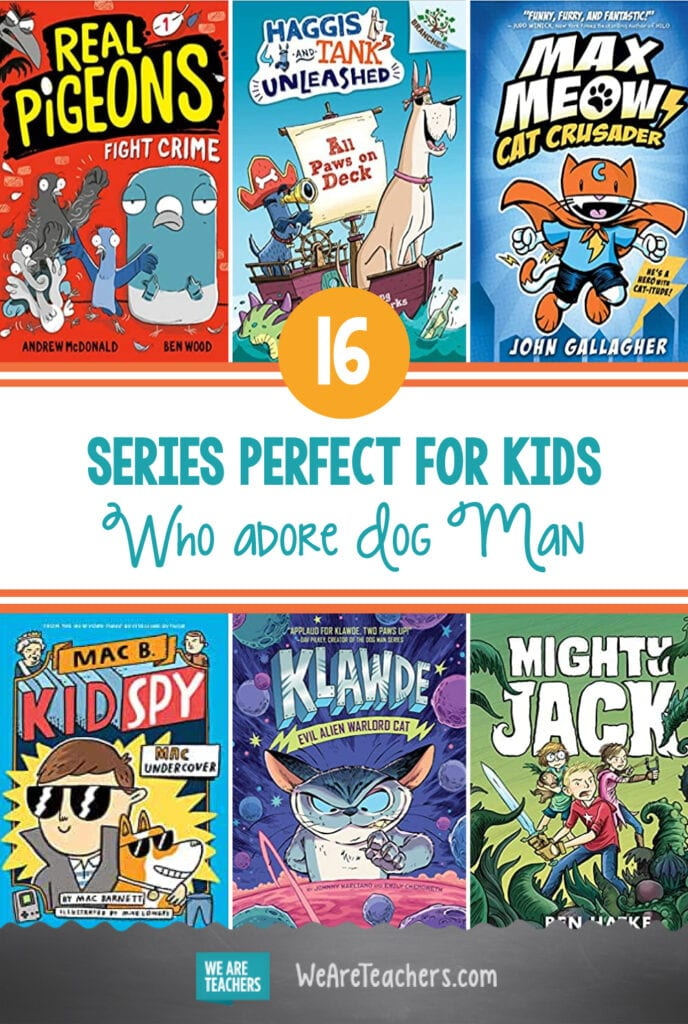 16 Series Perfect for Kids Who Adore Dog Man