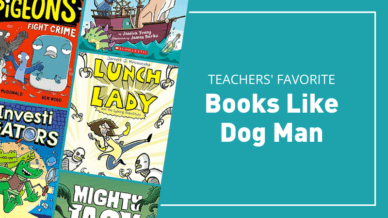 16 Series Perfect for Kids Who Like Dog Man Books