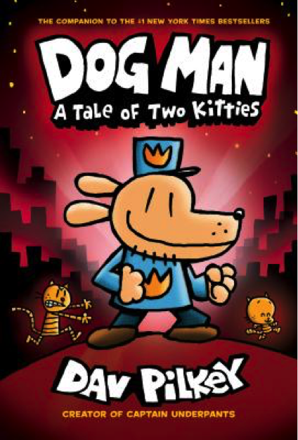 Dog Man Book Cover - Popular Kids Books