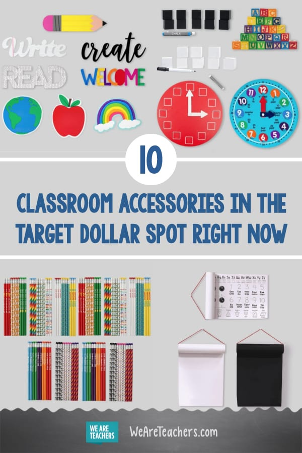 The Target Dollar Spot Is Overloaded With Classroom Accessories Right Now