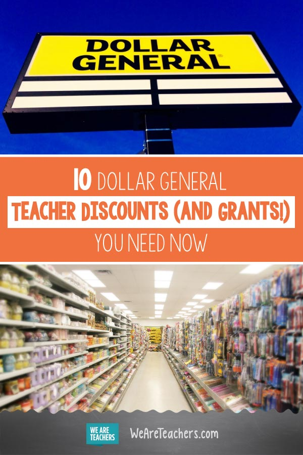 10 Dollar General Teacher Discounts (and Grants!) You Need Now