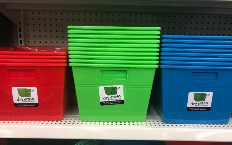 Genius storage bins