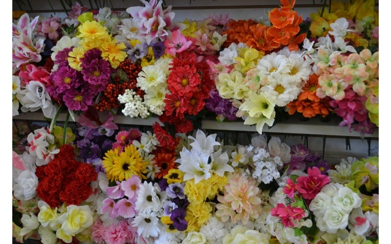 Flowers dollar store hacks