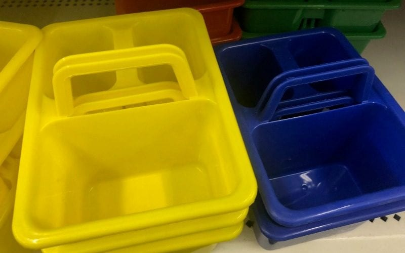 Supply bins