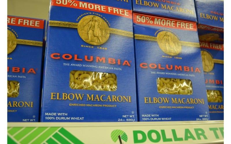 Macaroni dollar store hacks