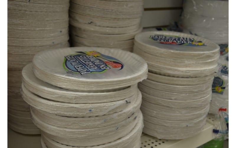 Paper plates dollar store hacks