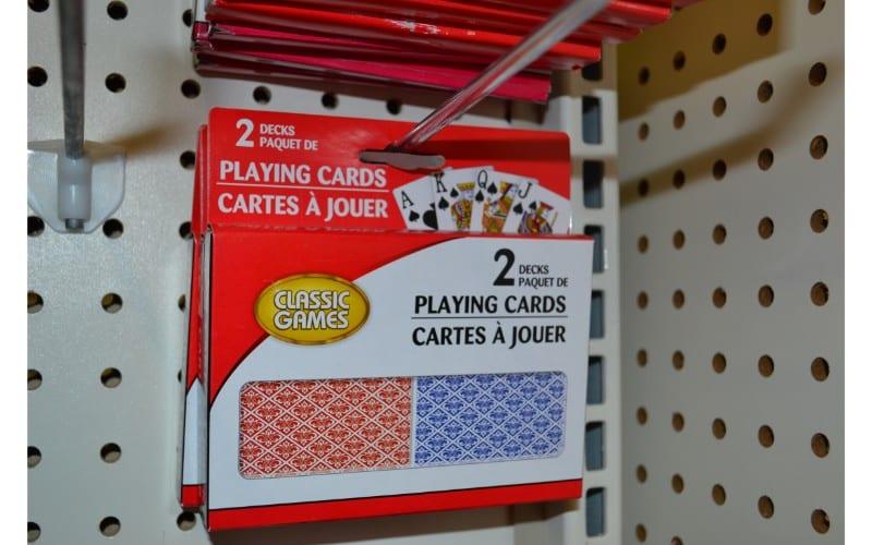 Playing cards dollar store hacks