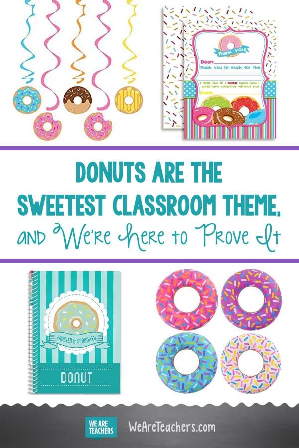 Donuts Are the Sweetest Classroom Theme, and We're Here to Prove It