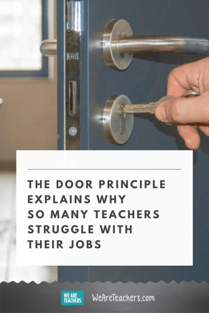 "This Teacher's Brilliant ""Door Principle"" Explains Why So Many of Us Feel Conflicted About Our Jobs"