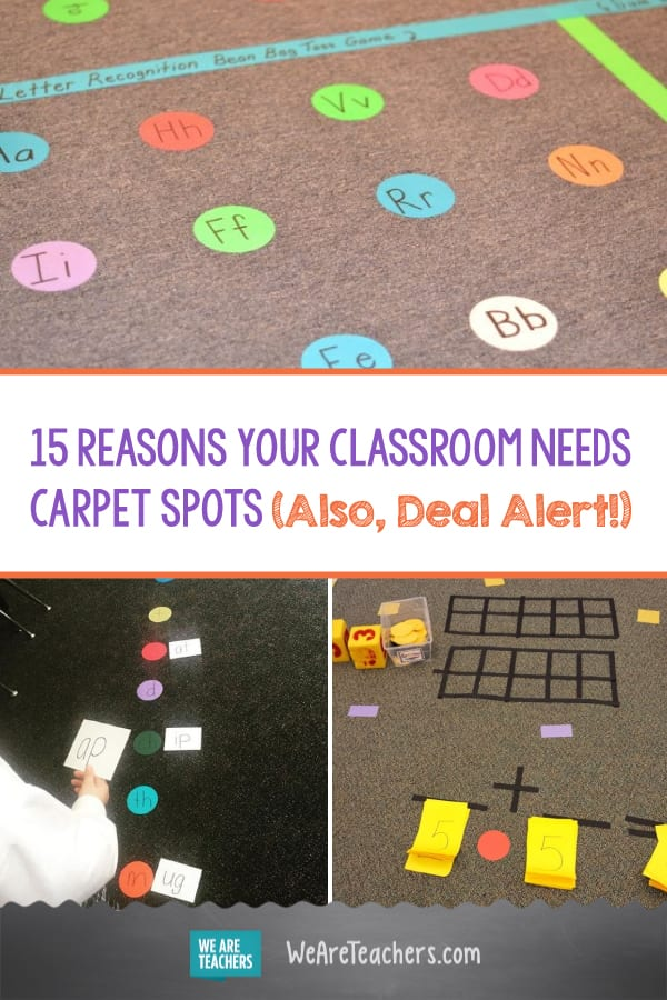 15 Reasons Your Classroom Needs Carpet Spots (Also, Deal Alert!)