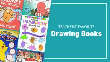 Teachers' favorite drawing books.