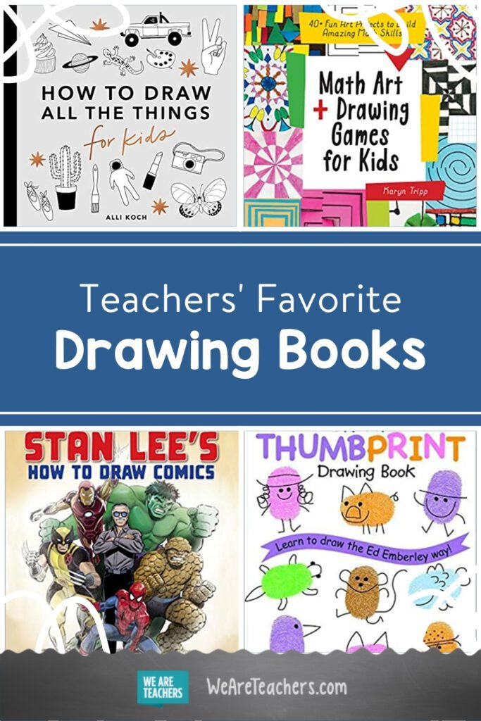 17 Drawing Books for Kids To Inspire Young Artists