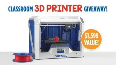 Dremel 3D Printer Giveaway