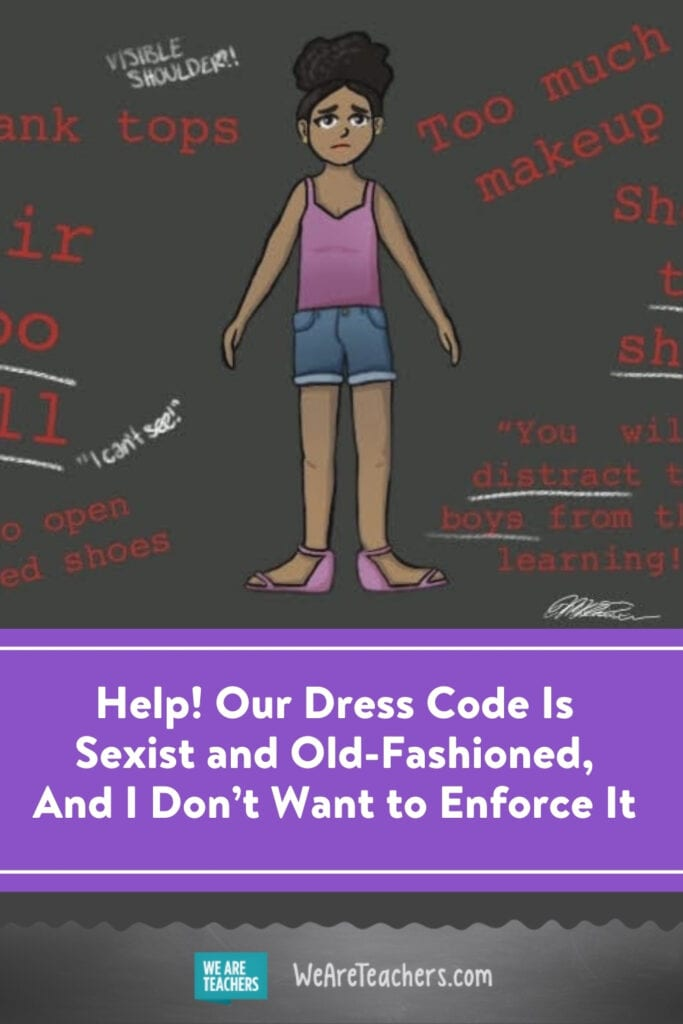 Help! Our Dress Code Is Sexist and Old-Fashioned, And I Don't Want to Enforce It